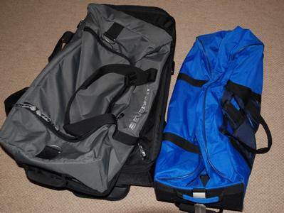 Två väskor - räcker det?