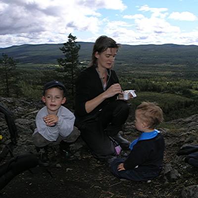 Matsäck på berget