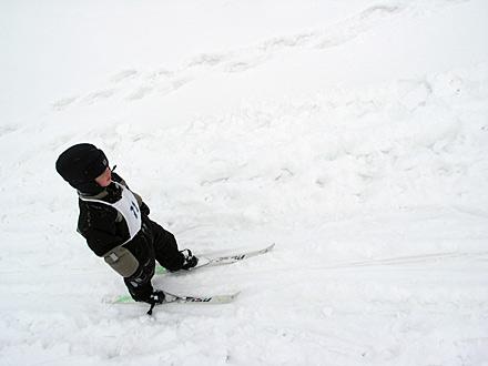 Axel åker skidor - Hägernloppen 05