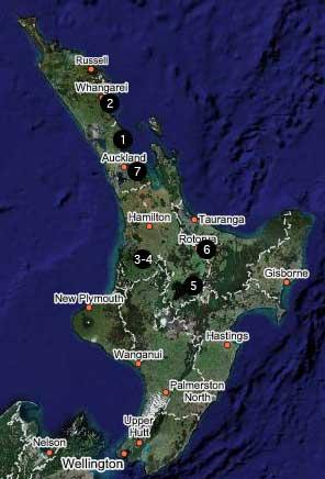 Karta, Nya Zeeland
